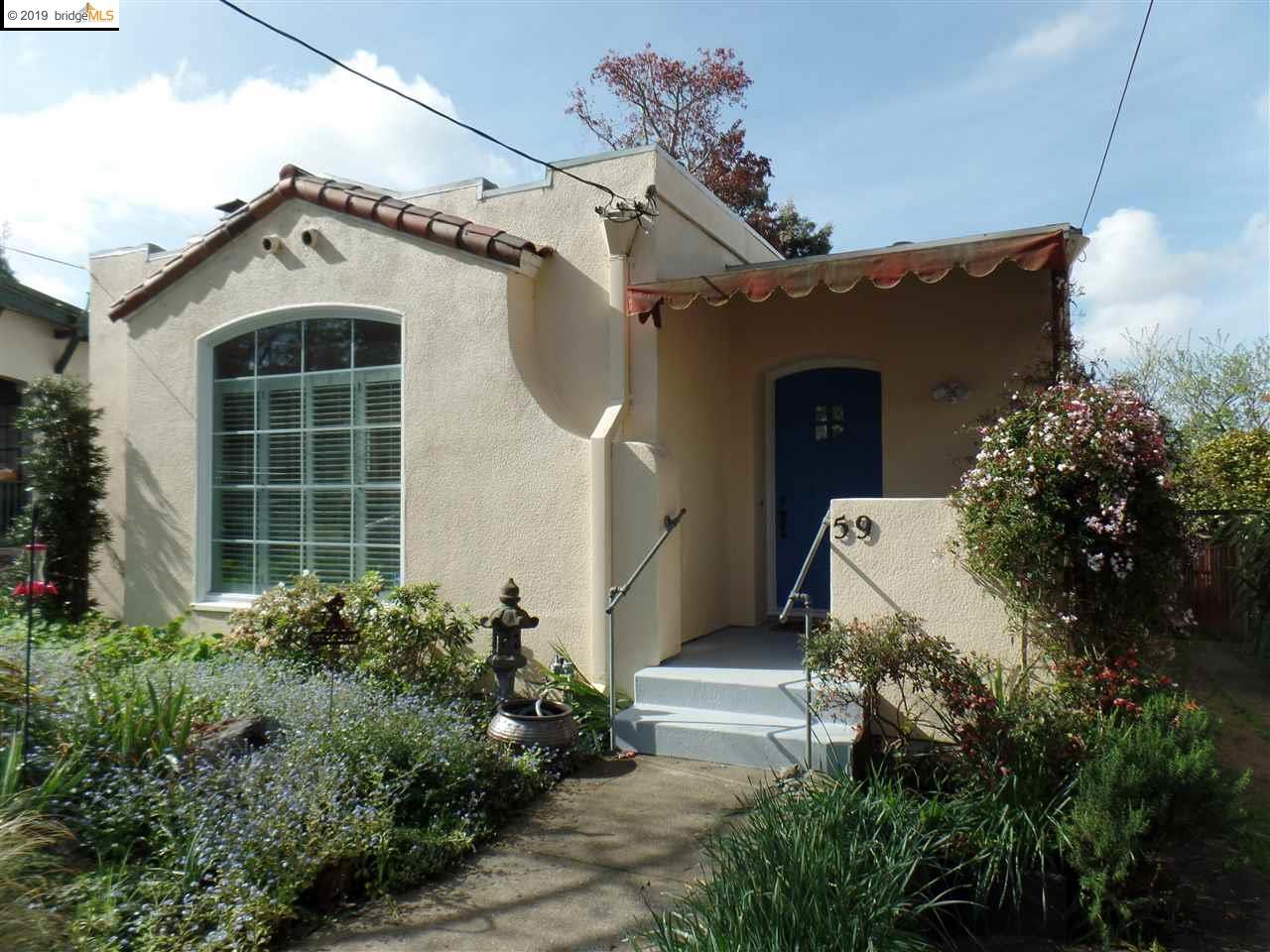 59 Ramona Ave , Oakland, CA 94611 Oakland CA Ultra charming, warm