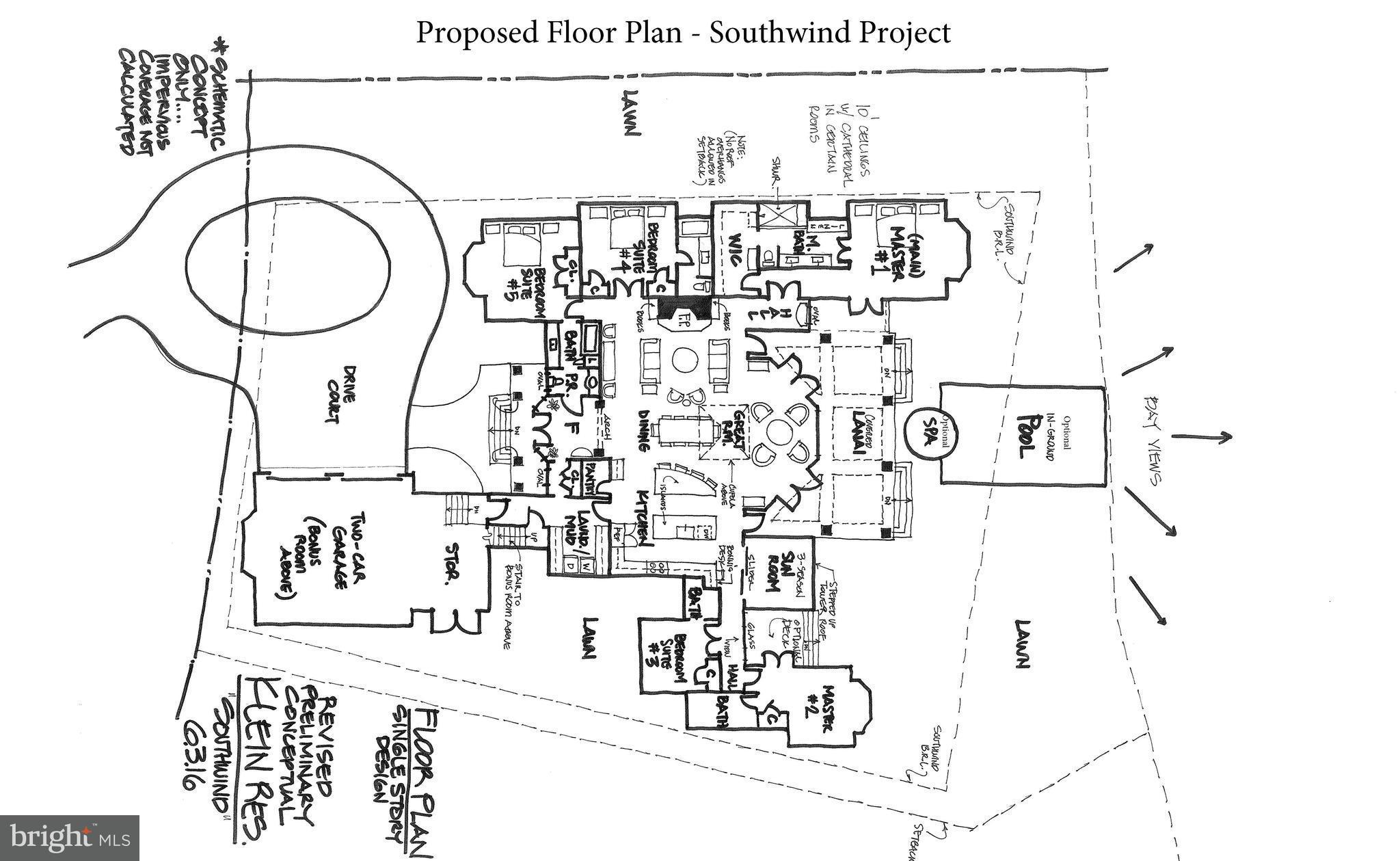 2923 Cox Neck Rd E Chester Md 21619 1850000 Cupola Schematic Gorgeous To Be Built Zero Energy Waterfront Home On Crab Alley Bay Green Aspects Include Geothermal Solar Panels Star Appl